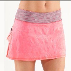 Lululemon Run: Pace Setter Skirt- size 6